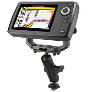 "RAM Track 1"" Ball Mount with 1.5"" x 3"" Plate fits Humminbird Helix 5 GPS / Sonar"