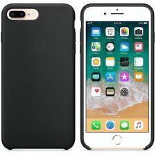 Funda silicona iPhone 7/8 textura suave  Negro