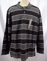 Foundry Mens Big & Tall Long Sleeve Polo Shirt 100% Cotton NWT 2XL OR 2XLT