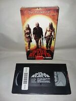 THE DEVIL'S REJECTS, VHS Tape RARE! Rob Zombie HORROR. Tested Works!!