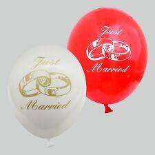 30 / 50 Luftballons Hochzeit Just Married für Hochzeit Feier Party Dekoration
