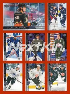 2020-21 UD Upper Deck Hockey EXTENDED SERIES - BASE  ***U PICK LIST***