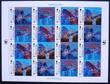 Gibraltar 2017 Mi. 1832-35 Kleinbogen ** MNH WWF Fledermäuse Bats Mi. 48,--  €