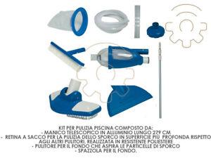 Intex 28003 kit Deluxe set accessori per pulizia piscine piscina con aspiratore