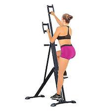 Homcom Vertical Climbing Machine Cardio Stepper Home Gym Exercise Workout Black