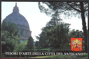 Vatican City #MiMH4 MNH Booklet CV€9.50 1993 Basilicas Capitolium [917a-920a]