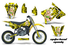 AMR Racing Suzuki RM 85 Graphic Decals Number Plate Kit Sticker Wrap 02-15 MM GY
