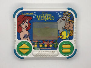 Disney's The Little Mermaid Tiger Electronics Handheld Game 1990 (Works Great!)