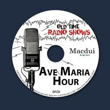Ave Maria Hour Old Time Radio Shows Historical 324 OTR MP3 Audio Files 1Data DVD