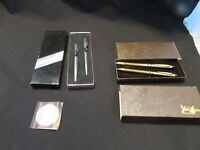 Lot of 2 Vintage  Pen & Pencil Writing Sets: PaperMate And Other