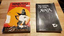 Two Ninja Books, Soft Cover, Masaaki Hatsumi, Ashida Kim, Martial Arts