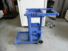 SPECIALIST BLUE MOBILE CLEANING TROLLEY BRISBANE