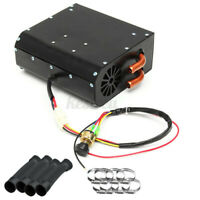 12V Universal Copper Underdash Compact Air Heater Heat 3 Speed Switch Car  R W