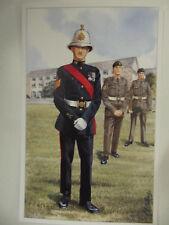 The Royal Marines - Military Postcard (Geoff White Ltd.)