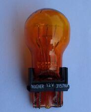 Glühlampe USA 12V 27/7W 2 Faden Gelb Blinker 3157 3157NA NEU Dodge GMC Ford