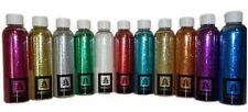 200 ml Glitter Glimmer Glitzer Pulver Puder Glitterstaub Nageldesign Dekoration