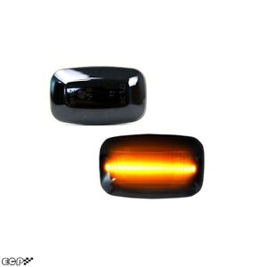 Fit for Land Cruiser FJ80 LC80 J8 Amber LED Sequential Side Marker Light Smoked