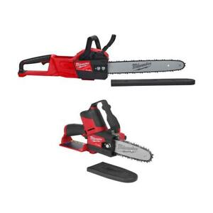 M18 FUEL 18-Volt Lithium-Ion Battery Brushless Cordless 16 in. Chainsaw HATCHET