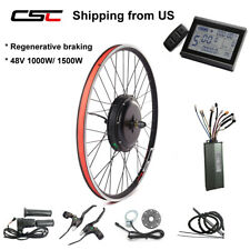 Ship from US ebike conversion kit rear wheel electric bicycle kit 1000W 1500W