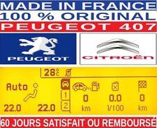 AFFICHEUR PEUGEOT 407 , ECRAN PEUGEOT 407, AFFICHEUR 407 , SCREEN LCD PEUGEOT