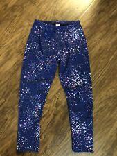 Girls Oshkosh Fleece Lined Leggings Size 12