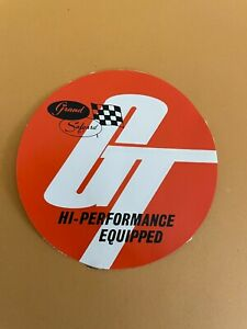 Grand Safgard Hi-Performance Equipped Used Decal : See description