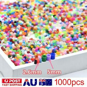 NEW 1000PCS 50-72 Colors PP Fuse HAMA BEADS for GREAT Kids Great Fun Craft AU