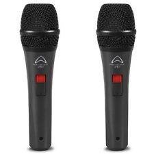 WHARFEDALE PRO DM 5.0 S coppia microfoni gelato switch on off x canto voce
