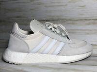 Adidas Marathon x5923 Originals Boost Shoes White Grey Size 9.5 New G27860