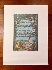 2 Original Lithographs from Maurice Sendak's Lullabies And Night Songs, Children