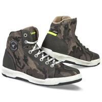 Schuhe Stiefeletten Motorrad Unisex Stoff STYLMARTIN RAPTOR Camouflage (42)