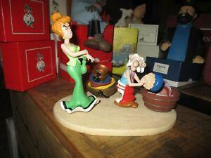 Astèrix&Obélix-Ancienne scène Agecanonix fait la vaisselle,surveillé par MADAME