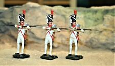NAPOLEONIC WARS, FRENCH DUTCH GRENADIERS FIRING  54MM PAINTED METAL