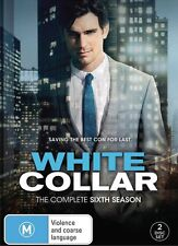 WHITE COLLAR - SEASON 6   -  DVD - UK Compatible - New & sealed