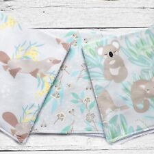 Baby Burp Cloth - Set of 3 Baby Gift, Baby Shower, Australiana Collection