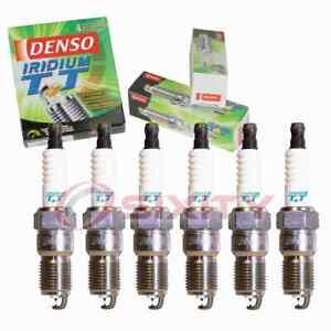 6 pc Denso Iridium TT Spark Plugs for 1981-1983 DeLorean DMC 12 2.9L V6 gg