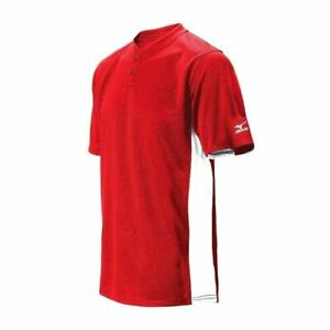 New Mizuno Mens Size- Extra Small Red G2 Baseball Jersey Shirt