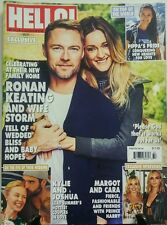 Hello August 2016 Ronan Keating And Wife Storm Pippa's Pride FREE SHIPPING sb
