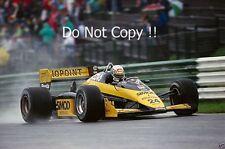 Alessandro Nannini Minardi M187 Austrian Grand Prix 1987 Photograph