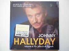 Johnny Hallyday livre + 1cd Un Phénix de Légende 87-05 V.4 mon plus beau noël