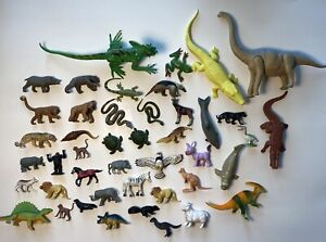 Play Visions & Other Animal And Dinosaur Mixed Toy Lot 1994-1998