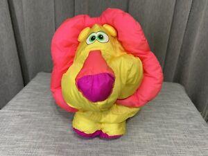 Vtg 1994 Fisher Price Puffalump Big Things Lion Stuffed Plush Toy Pillow *24