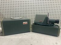 Vintage ARGUS 300 Automatic 35mm Slide Changer Projector POWERS ON COLLECTIBLE