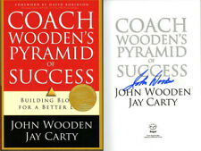 Coach John Wooden SIGNED AUTOGRAPHED Pyramid of Success HC 1st Ed UCLA Basketbal
