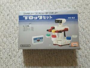 Nintendo FC NES ROB the robot Block Stack Up Open Box US Seller