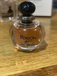 Christian Dior Poison Girl Eau De Toilette 0.17 Ounce 5ml Mini Size