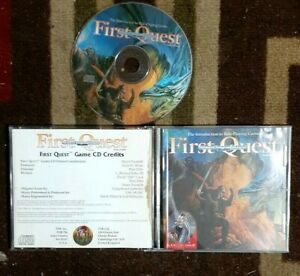 Advanced Dungeons and Dragons: First Quest Audio CD In Original Case