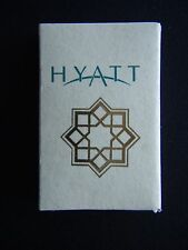 HYATT REGENCY ISTANBUL 212 2257000 MATCHBOX
