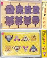 Disney Winnie The Pooh & Friends Clear Chocolate Mold Trays Set of 2