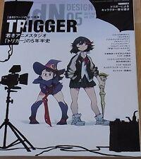 MdN Studio TRIGGER Feature Issue Kill la Kill Little Witch Academia